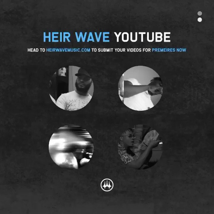 Our YouTube channel is now live ! youtube.com/c/HeirWaveMusi…