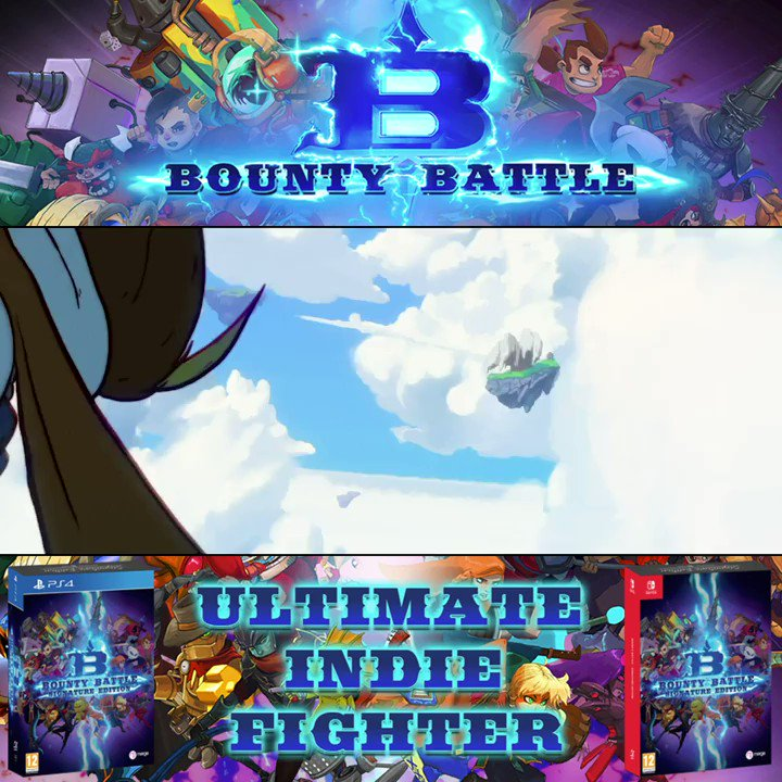 #BountyBattle out today on Signature Edition and at retail.  RT and ♥ this tweet for a chance to #WIN a copy. Tell us you who is your indie hero? Winner announced Sept 18.