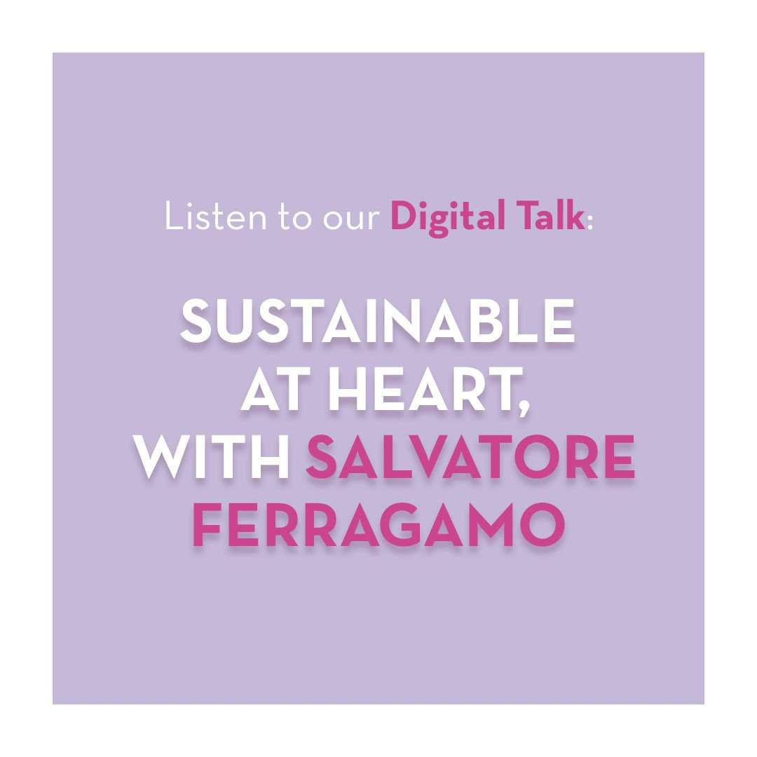 Watch the replay of the Digital Talk on Sustainable at heart, with Salvatore Ferragamo. https://t.co/ys7Sxj2Hxg https://t.co/H17q2x0avD