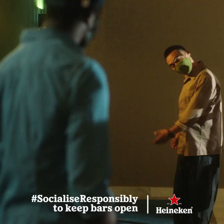 Keep your favourite bar open by keeping your distance. #SocialiseResponsibly https://t.co/cuE7aGdEcZ
