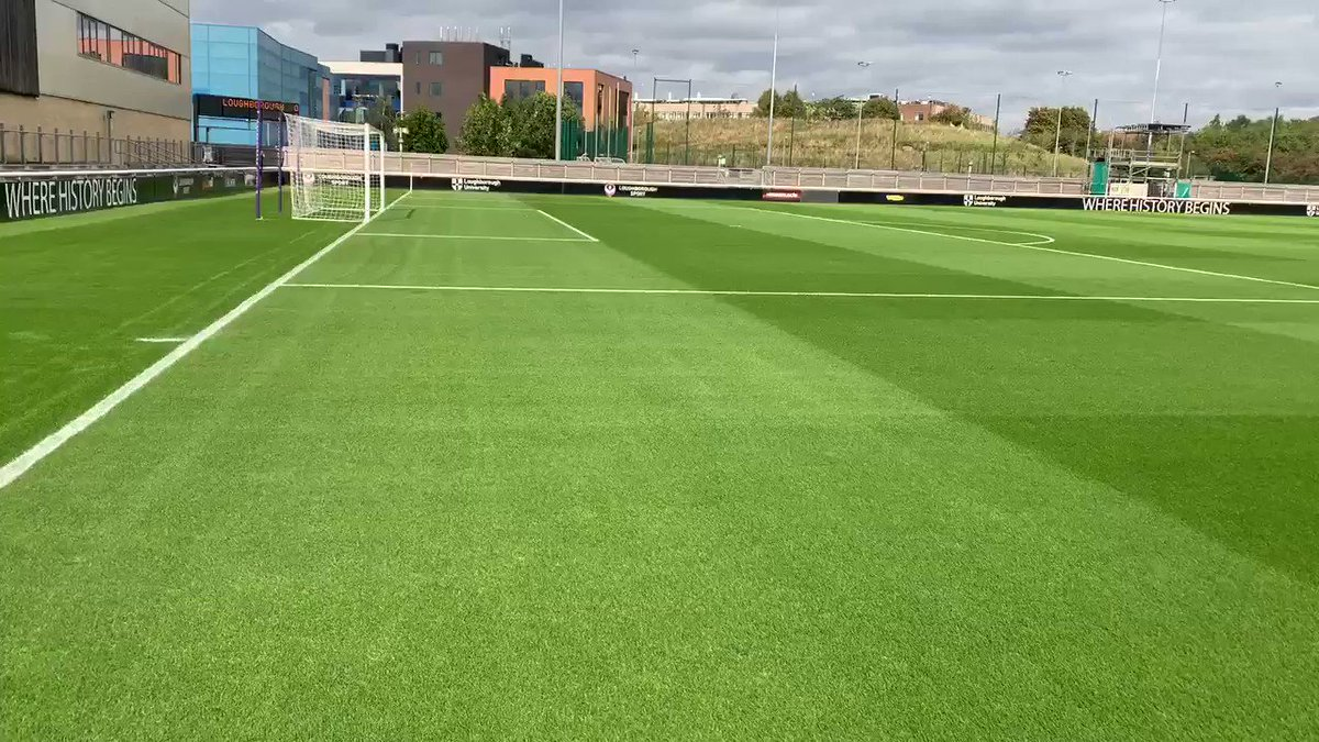 Image for the Tweet beginning: Pitch ready for tomorrow's game
