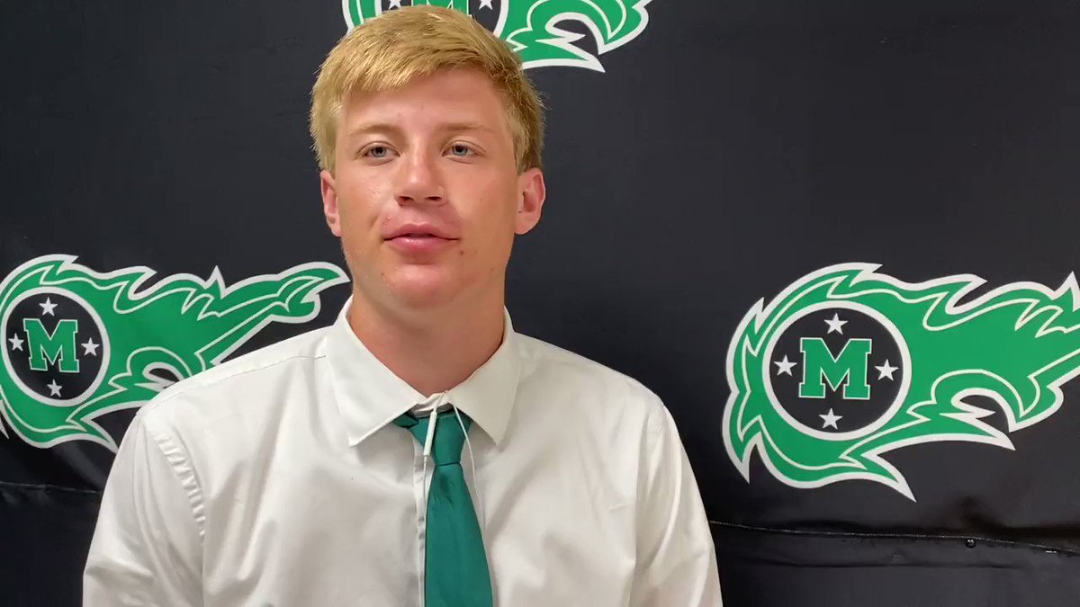The @MasonCometsFB are 2-0 and looking to go 3-0 against Oak Hills. Sophomore Ben Fosnot spoke with sports reporter Mia Keim about the importance of taking care of business tonight and his hopes for the rest of the season. https://t.co/BhRSnUtNLY