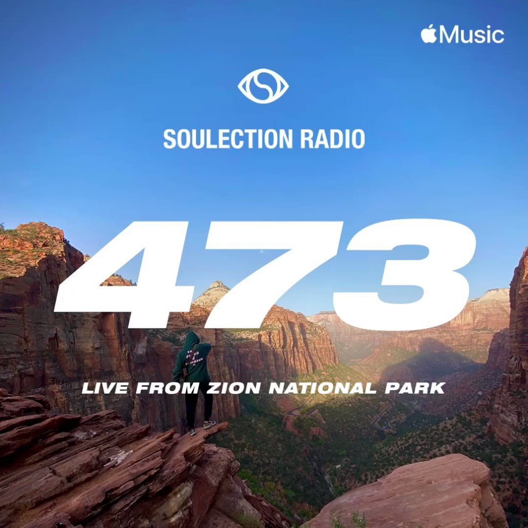 l i v e from Zion today 🕊 all my favorite sounds in one place. @AppleMusic 1 👁🗨