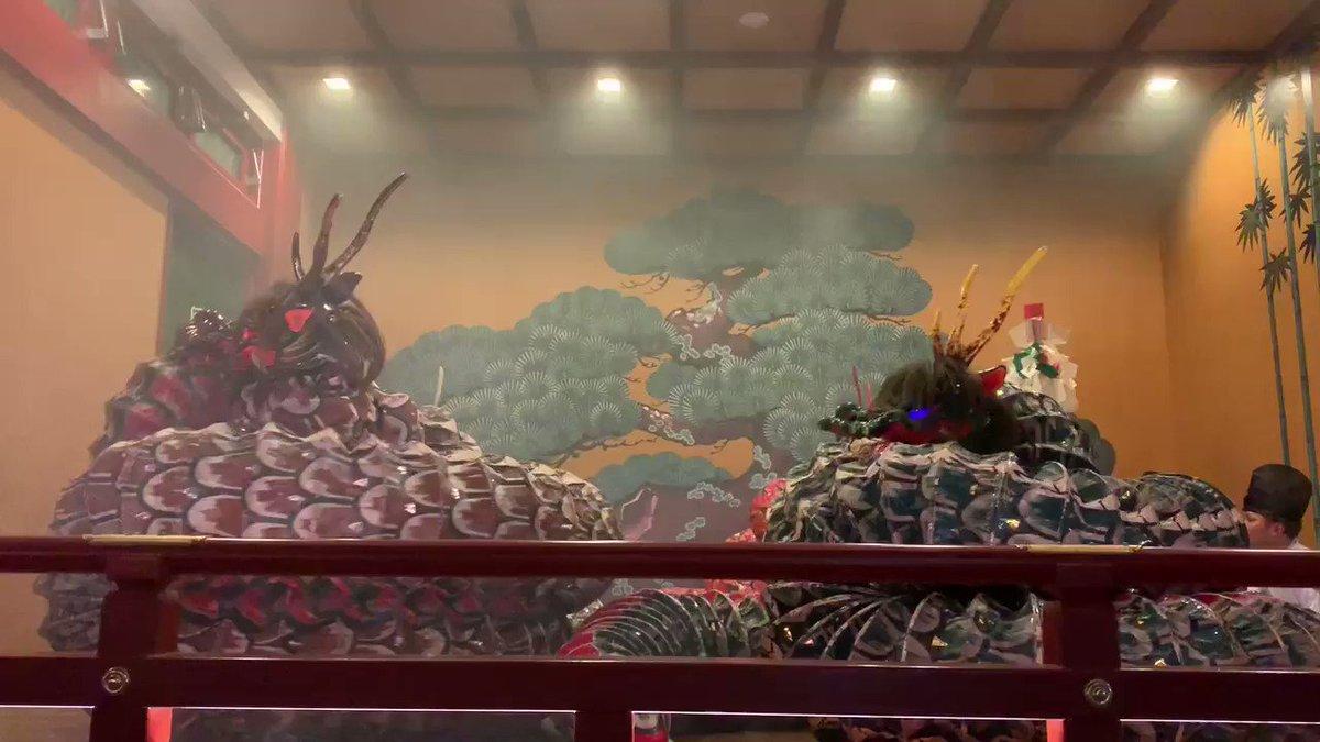 石見神楽のオロチを見ていると、本当に日本の怪獣映画の源流を感じる