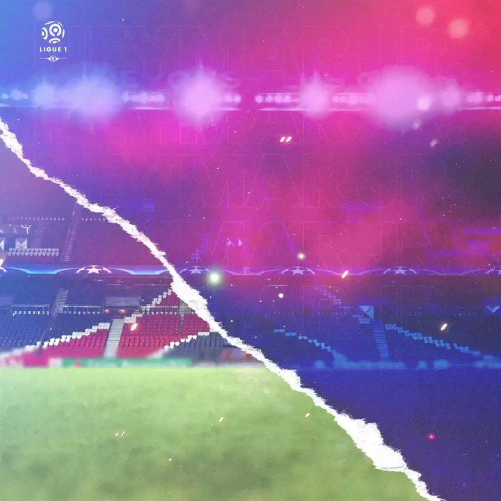 #MATCHDAY 🔴🔵 ⠀ ⚽ PSG 🆚 Olympique de Marseille 🎯 Ligue 1 🏟 Parc des Princes ⌚ 16h 🇧🇷 - 21h 🇫🇷 ⠀ #Neymar #NeymarJr #Njr #PSG #ParisSaintGermain #OM #Football #Futebol #Ligue1 https://t.co/sp1TfkMNiO
