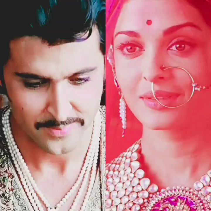 Jodhaa & Akbar are all things ❤ #HrithikRoshan & #AishwaryaRaiBachchan are magical onscreen #Hrithik #Aishwarya #jodhaaakbar #bollywood