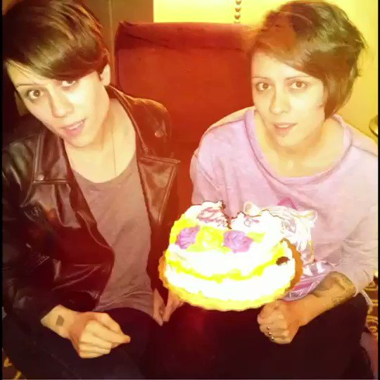 We're turning 40 on Saturday!The best present you could possibly give us is to support @teganandsarafdn - & the best way to do that right now is to enter our @Prizeo contest for a chance to win one of two guitars & a virtual meet & greet with us! Prizeo.com/teganandsara