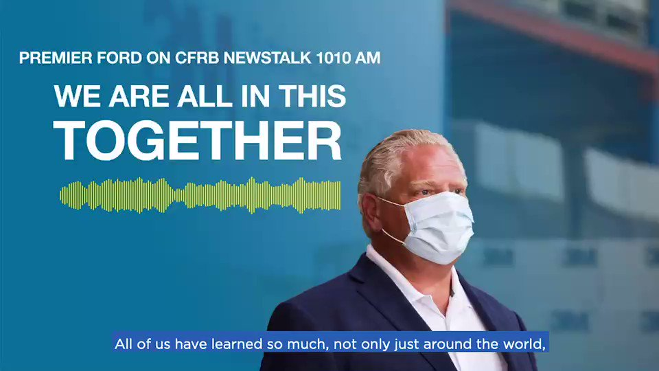Last week I had the chance to speak with @NEWSTALK1010 about #OntarioMade solutions to COVID-19. We have unleashed our world-class manufacturing might to meet the PPE demands for healthcare professionals and frontline workers. We can build anything here in Ontario.