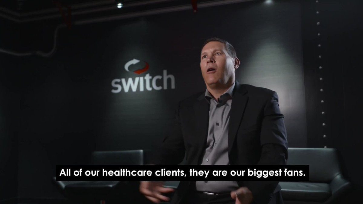Image for the Tweet beginning: Switch's pandemic-prepared #DataCenters have served