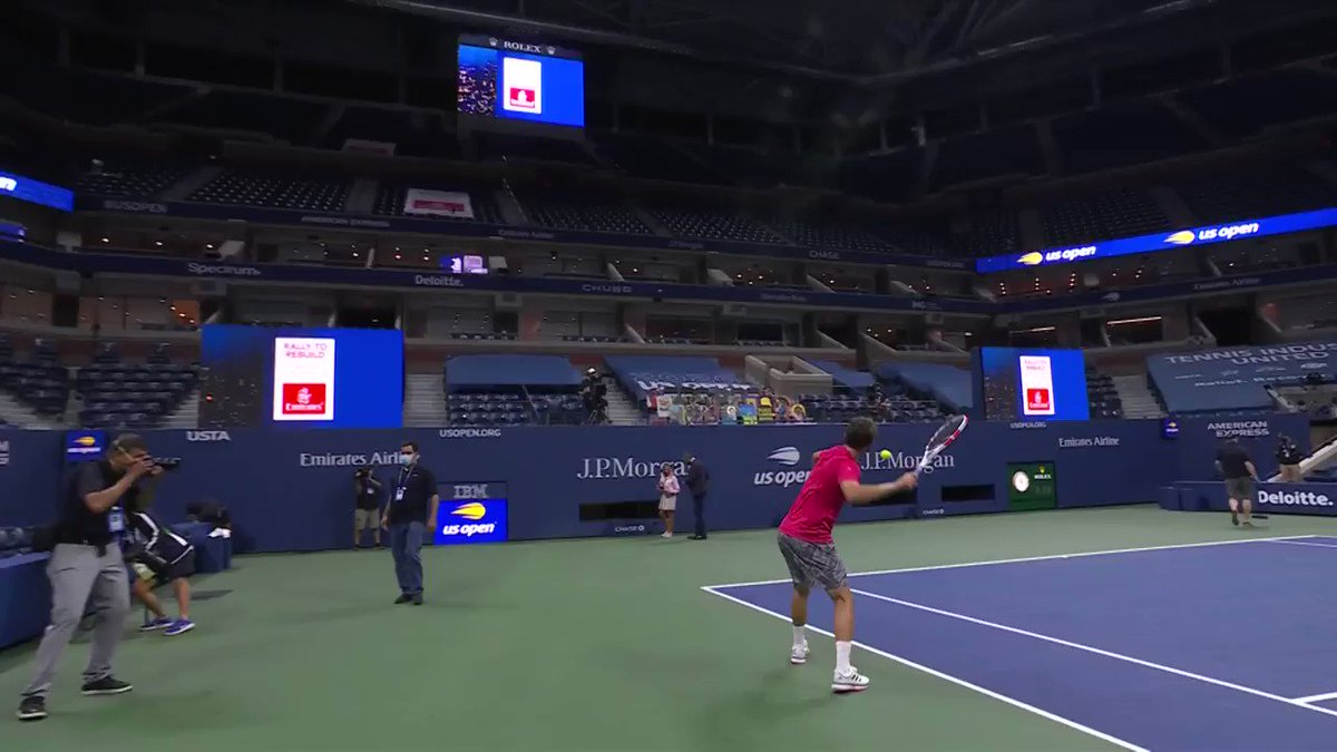 Right on target🎯 🎾  The @Emirates Serves For Good campaign generated $50,000 throughout the 2020 US Open in support of the #USTAFoundation's Rally to Rebuild.  Learn More ➡️ https://t.co/mVcCd7InNd  #FlyEmiratesFlyBetter | #BackInTheGame https://t.co/dhsOK95Dux