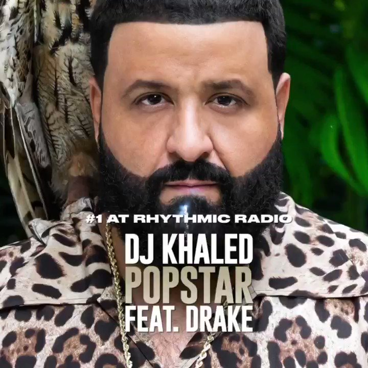 "RT djkhaled ""#FANLUV THANK U !  #POPSTAR #1 AT RHYTHM 📻😤 #WTBOVO @Drake 🦉🔑  Bless up #WETHEBEST #OVO @ozmusicproducer Dontay Rick ! @wethebestmusic @Epic_Records @rocnation thank u to all the DJS Program Directors !   KHALED KHALED THE ALBUM COMI… """