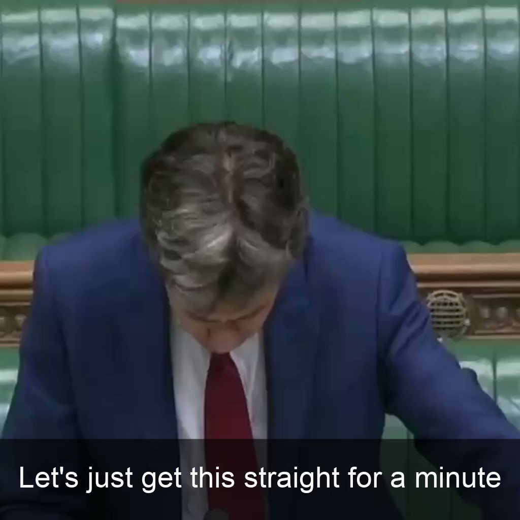What incompetence. What failure of governance. Boris Johnson cant blame Theresa May, he cant blame John Major, he cant blame judges, he cant blame civil servants, he cant sack the Cabinet Secretary again. Theres only one person responsible - him. Me in the Commons today: