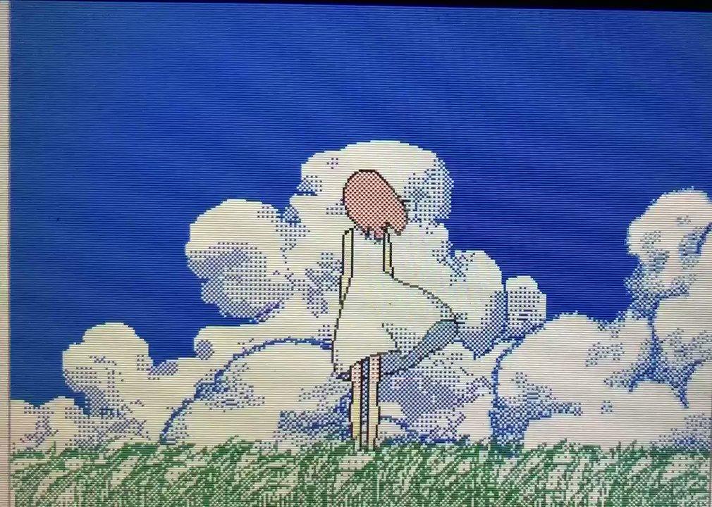3DSを引っ張り出して見たら描きかけのアニメがあった、たぶん続きは描かないのでここで見せちゃう。
