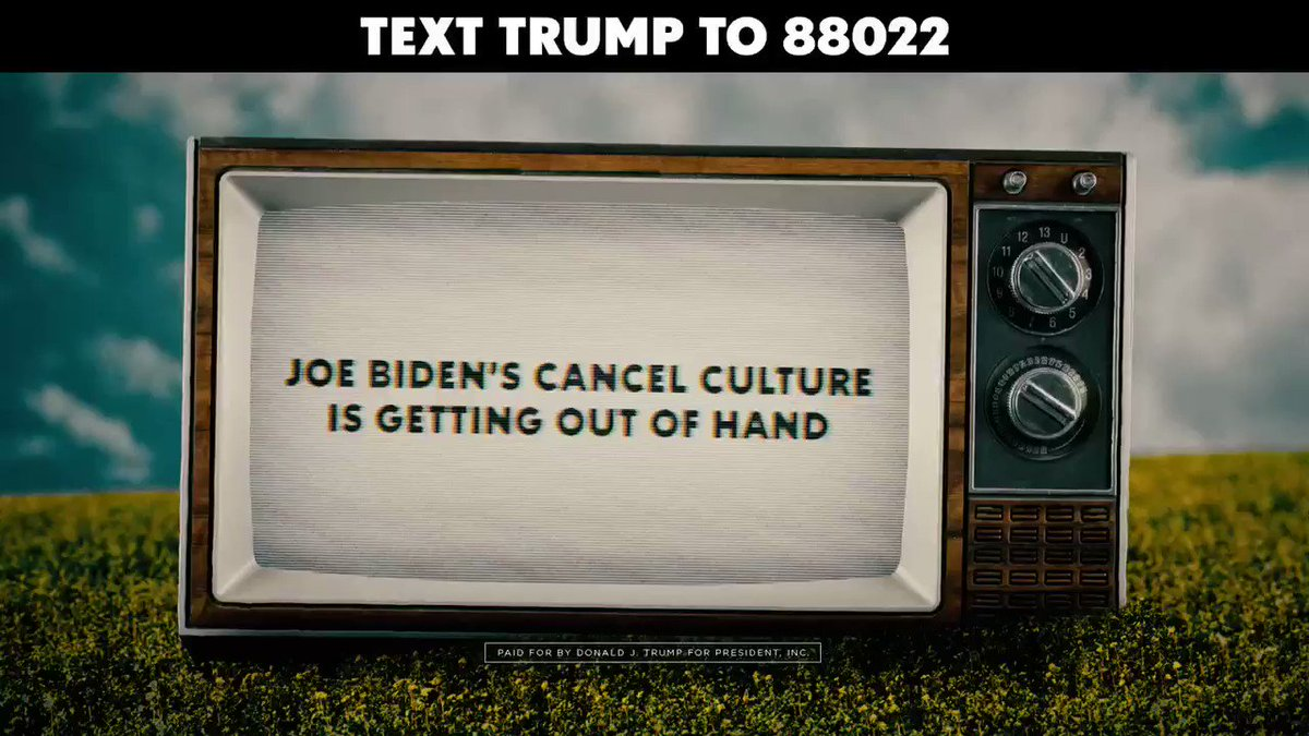 When will Joe Biden and the radical left cancel you? #CancelCulture