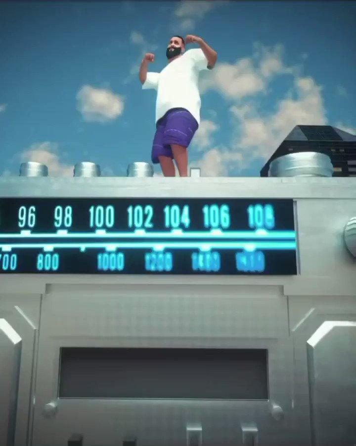 #FANLUV THANK U !  #POPSTAR #1 AT RHYTHM 📻😤 #WTBOVO @djkhaled feat @champagnepapi 🦉🔑