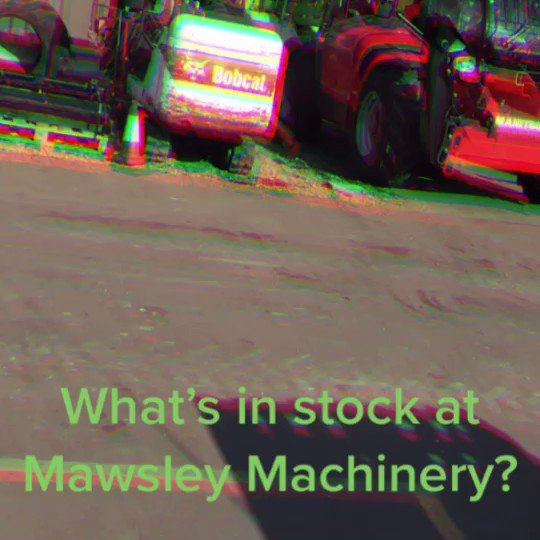 What's in stock at @MawsleyUK ? Drop me a DM for more info on our used equipment📲