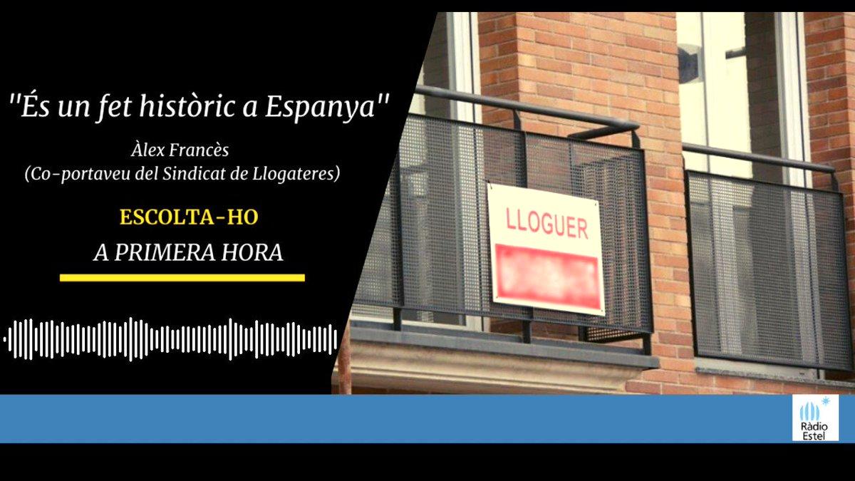 Image for the Tweet beginning: 🔴 Parlem de la nova