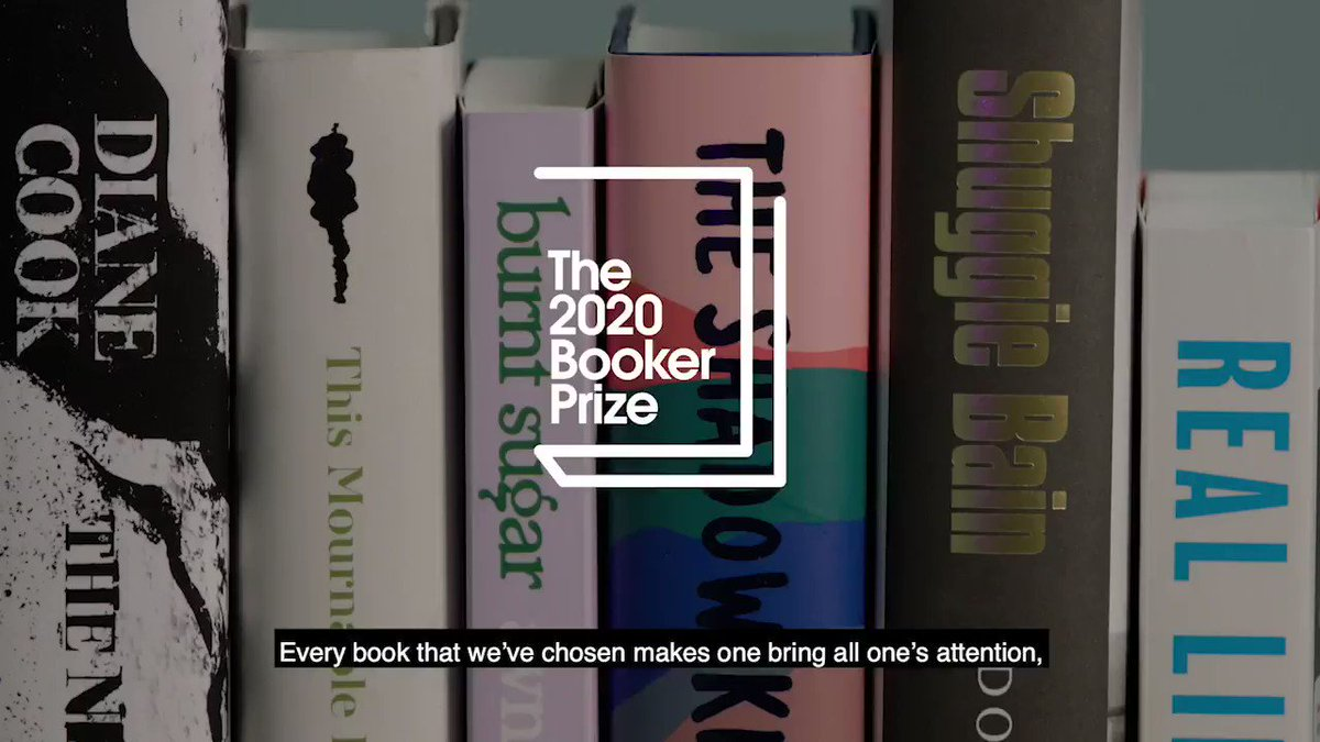 We are delighted to announce the #2020BookerPrize shortlist. Read more: bit.ly/3hrvif2 Join us tonight at 5pm BST in a virtual celebration of our #shortlist, livestreamed on our Facebook and YouTube channels. #FinestFiction