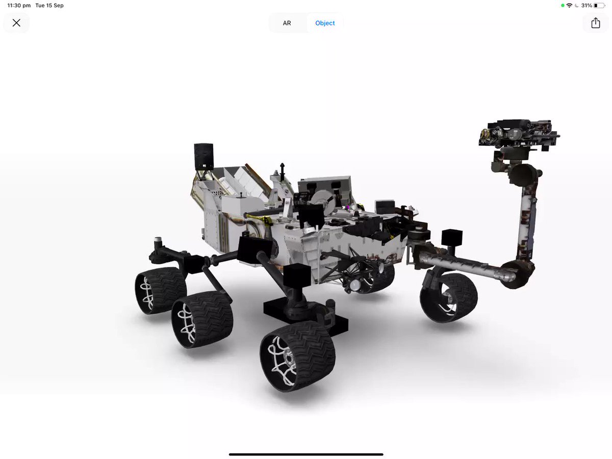 Image for the Tweet beginning: Check out Nasa Rover -