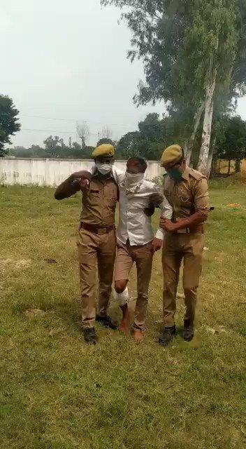 His name is Asif & he tried to rape a Dalit girl But Yogi cops treated him very well by shooting on his leg Thats why THEY hate Yogi ji more than Modi ji