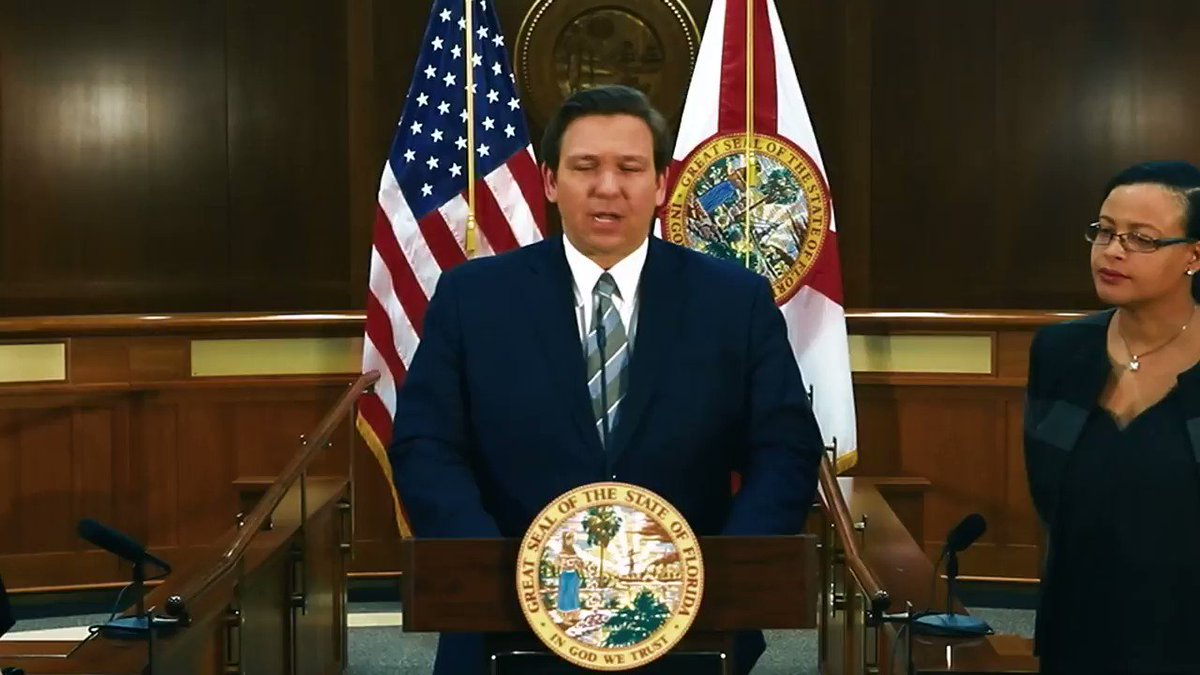 This week I was proud to recommend Judge Renatha Francis as a federal district court judge candidate to President @realDonaldTrump & had the opportunity to appoint Judge Jamie Grosshans as Florida's next Supreme Court Justice. Thank you for your service to our great state!