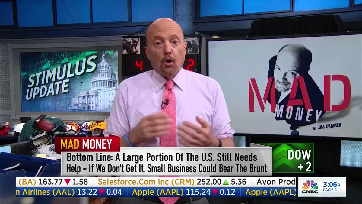 "Jim Cramer apologizes to Speaker Nancy Pelosi: ""I made a very stupid comment."" https://t.co/dXiWC1fx1r"
