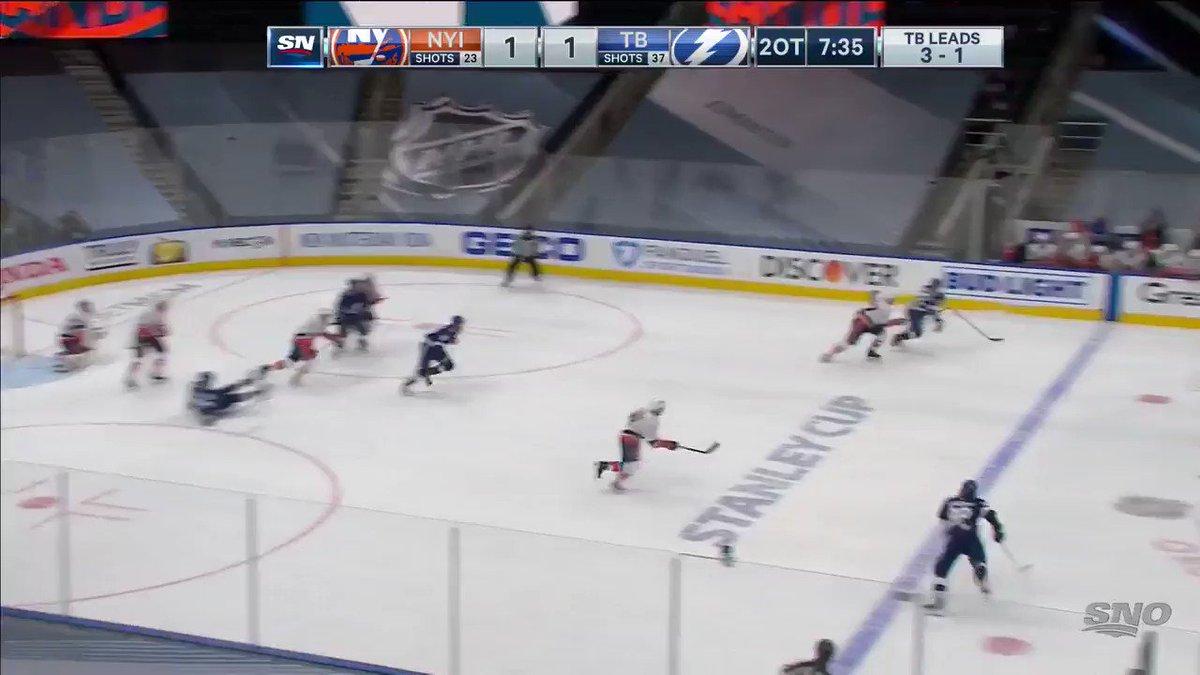 JORDAN. EBERLE. GAME. WINNER. 🤩 The @NYIslanders force Game 6! 🔥 #NHLonSN
