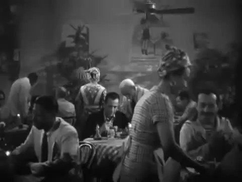 """To Have and Have Not (Howard Hawks, 1944).  """"Am I Blue?"""" (Music by Harry Akst / Lyrics by Grant Clarke).  #LaurenBacall #HoagyCarmichael #HumphreyBogart https://t.co/2KcH5kTJff"""