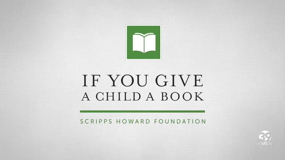 @WSFLTV partnered with @305CAHSD & @ELCofBroward to put books in the hands of children in our community who need them the most. Please join us in our mission to empower children with literacy tools they need to be successful in school and in life 📚 wsfltv.com/giveabook ❤️