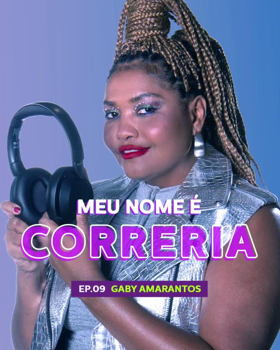 Cantora, compositora e apresentadora, a Correria da vez é @GabyAmarantos! Ela falou sobre a urgência em valorizarmos a cultura regional brasileira, sobre música, inspirações e perrengues nesse episódio que, desculpe a sinceridade, tá imperdível: