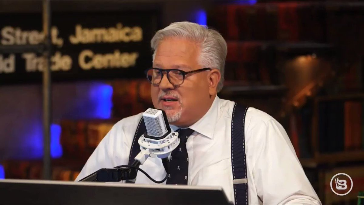 """Glenn Beck does not trust anybody who graduated with a degree in journalism because they are """"an enemy to mankind."""" https://t.co/lBWcv3K4zz"""