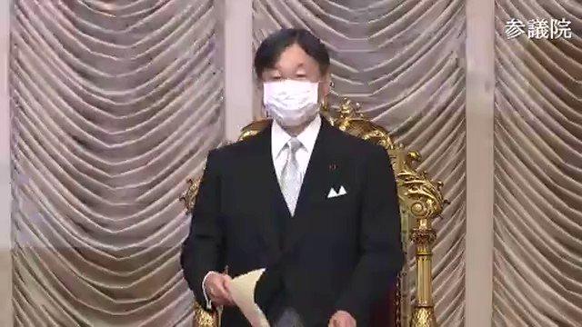 天皇陛下が国会に出席され、お言葉を述べられましたが、NHK含めTVは生放送せず。TVは天皇陛下のお言葉を国民にきちんと伝える気がないとしか思えない#kokkai