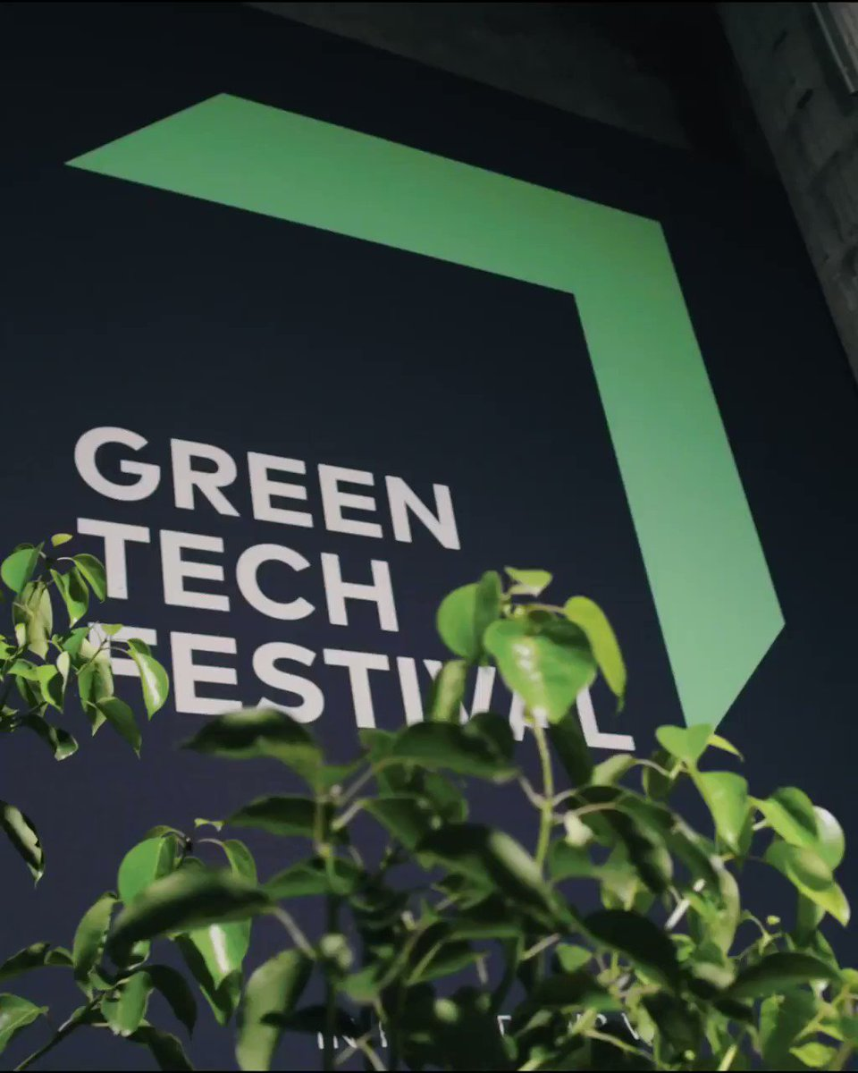 Day 1 @greentech_fest! ✌️ I'm so proud that we started with our inspiring SW!TCH GREEN session! We learned from our green leaders like Google & Alphabet CEO Sundar Pichai or Sting on what they think is the key for a sustainable future!  Conference & Exhibition starting today!