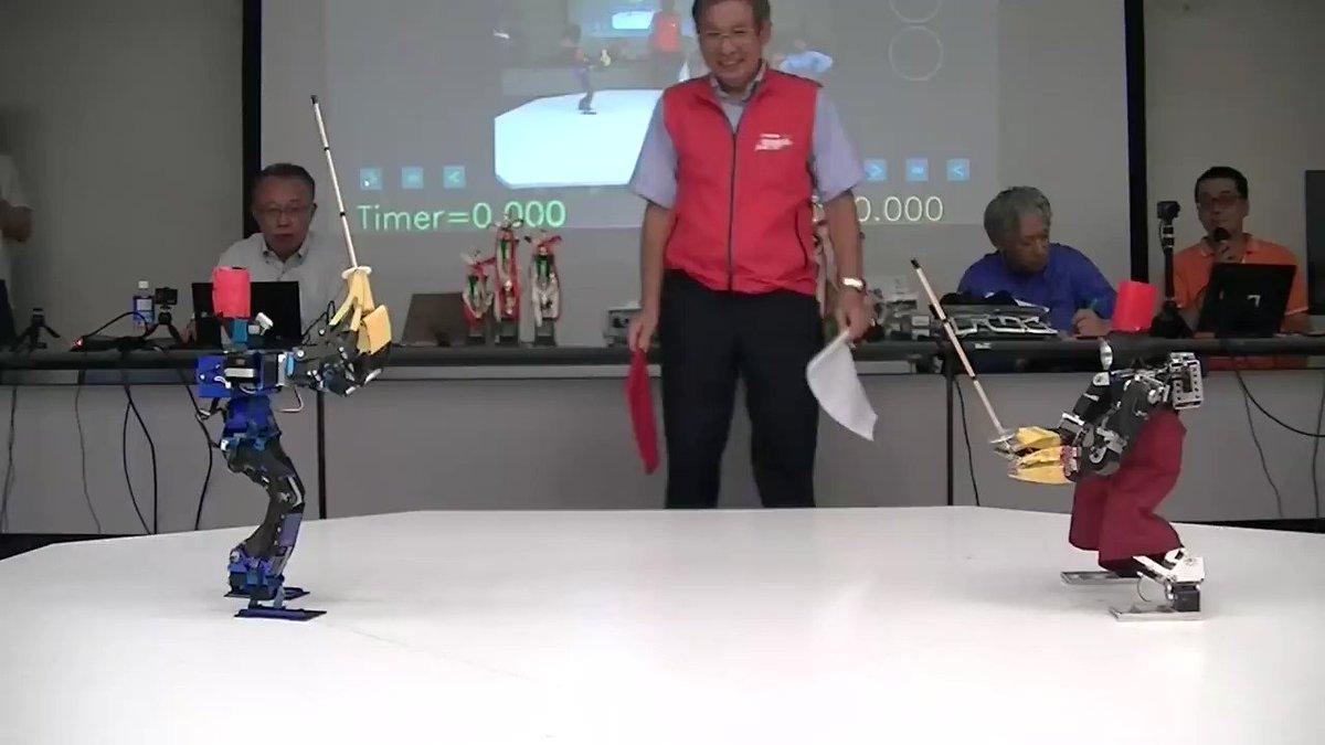 二足歩行ロボットに剣を持たせて、剣道を行うROBO-ONE 剣道。2019年大会ROBO-ONE剣道の動画が海外で注目され、実は168万回も再生されています!「ロボットに剣道させてる日本ヤベェww」となっているROBO-ONE剣道。9月19日開催、要チェックです! #roboone