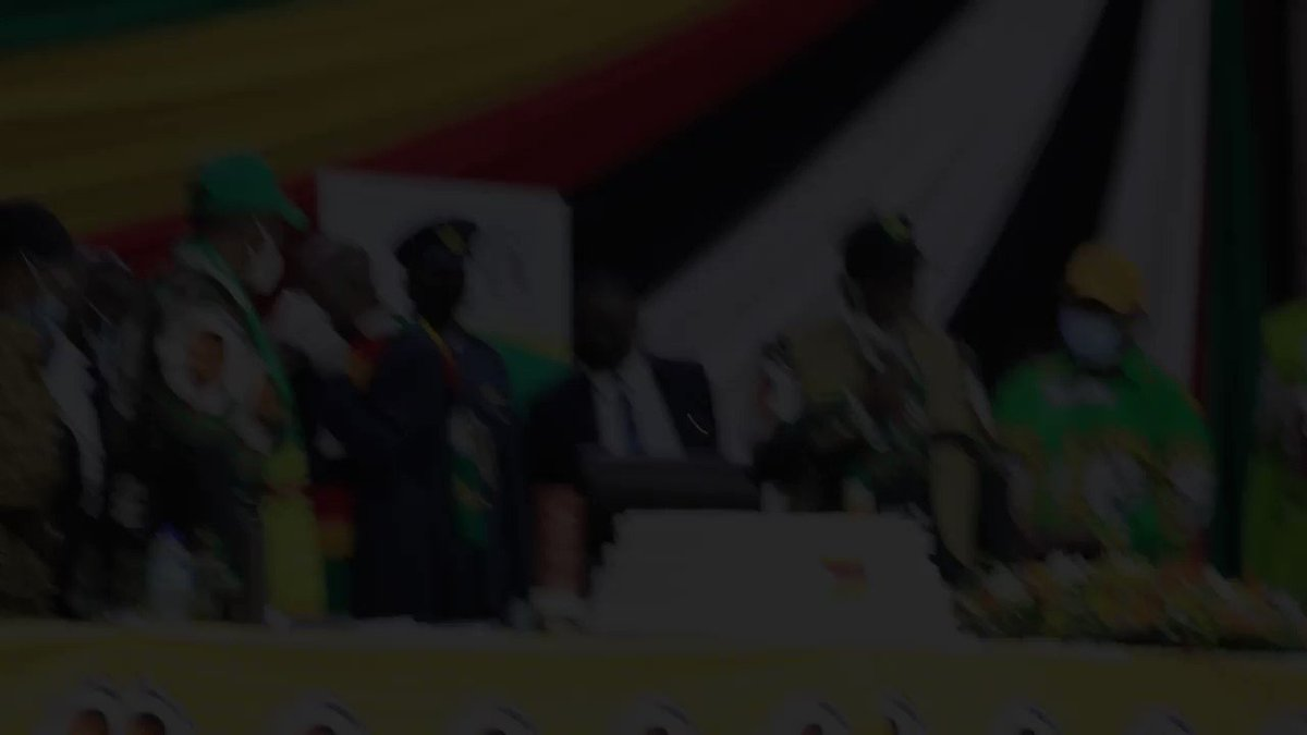 President Mnangagwa thanks his ZANU PF colleagues who celebrated his birthday with him. He turned 78 on Tuesday.