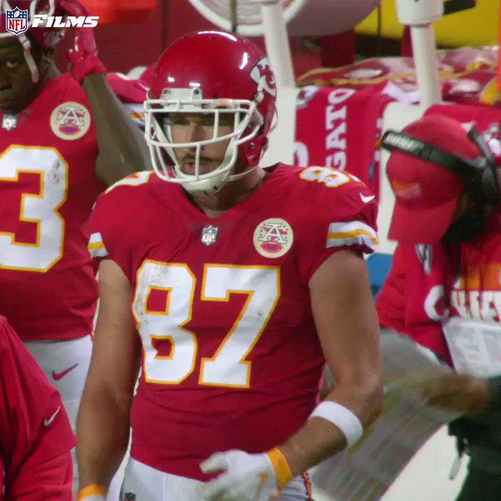Image for the Tweet beginning: 50 years ago 🤯 @tkelce channeling