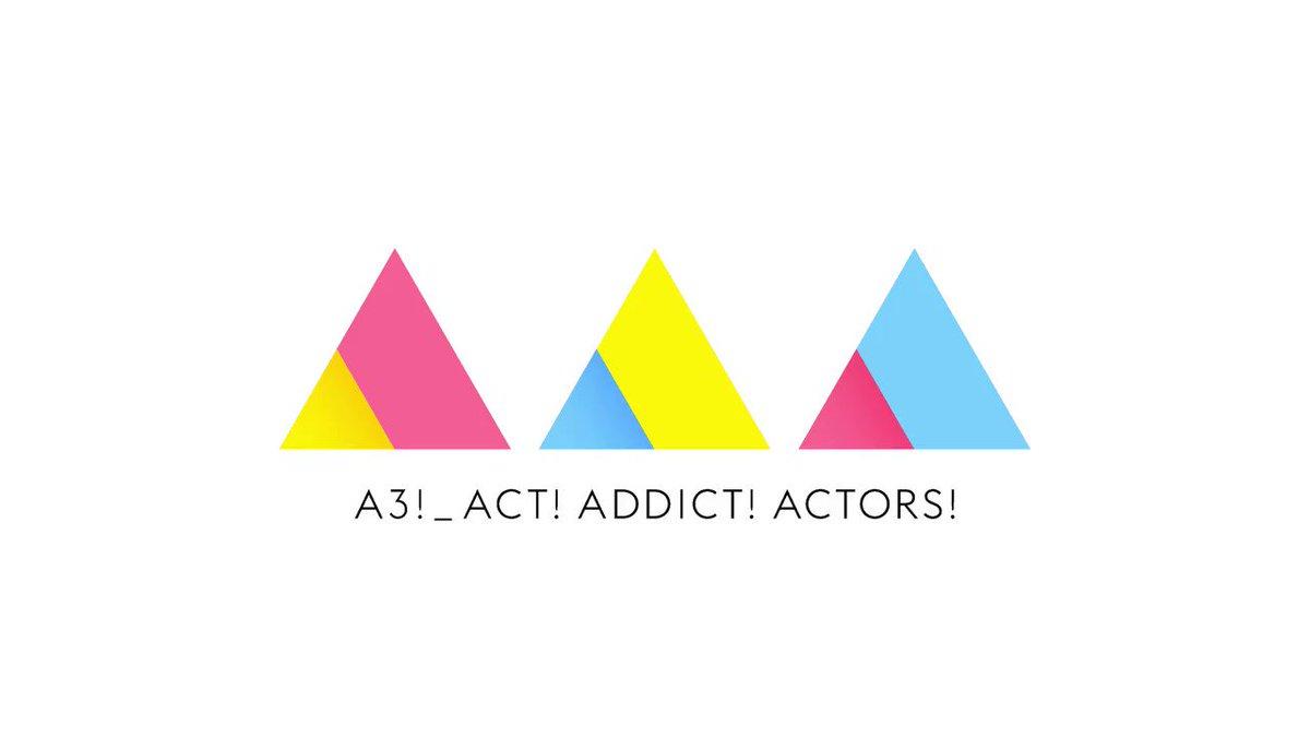 TVアニメ「A3!」PLAYBACK SEASON SPRING & SUMMER公開🌸🌻 春組と夏組を「Act! Addict! Actors!」アレンジVer.とともに振り返ります! #エーアニ