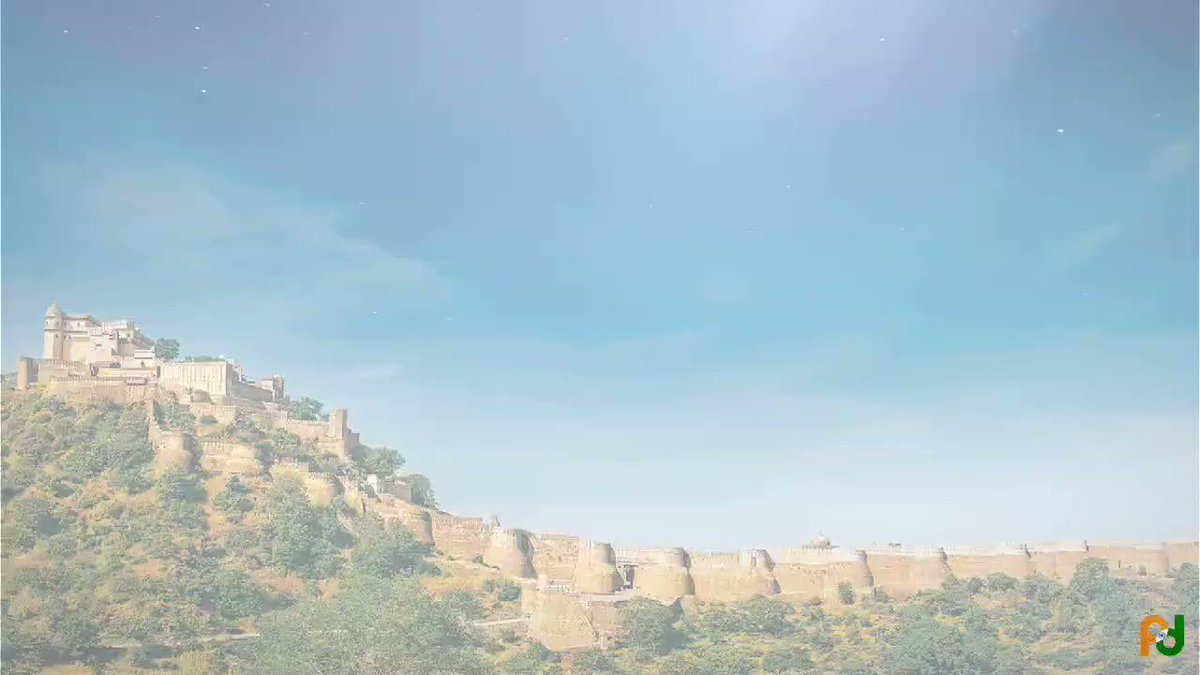 Birthplace of legends! Declared @UNESCO world heritage site, the formidable  Kumbhalgarh Fort in Mewar was built on a hilltop to provide strategic position to the kings to protect them against the attacks of the enemy. #KnowIndia @tourismgoi @IndiaatUNESCO @incredibleindia