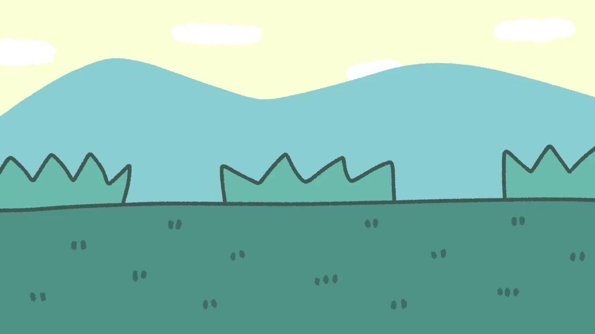 ナゾノクサの散歩