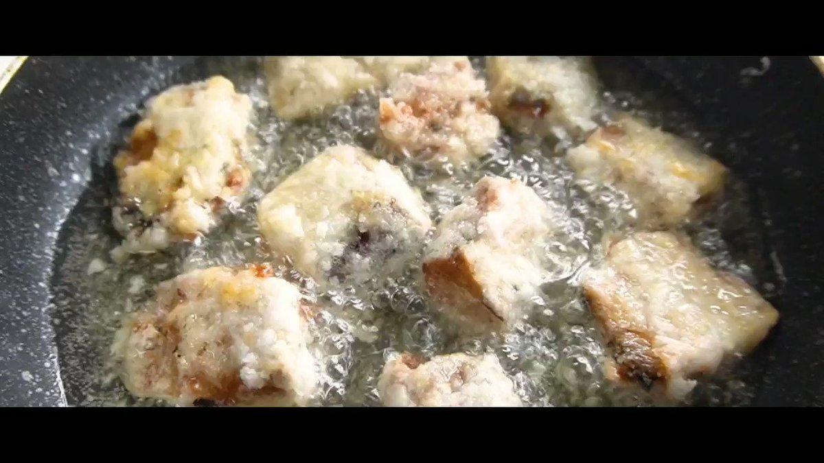 サバ缶は生姜に漬けて唐揚げにするとサックサクのホロッホロで本当に旨いんです…!!『サバ缶の塩唐揚げ』サバ缶常備必須の旨さ、食べ過ぎにはくれぐれもご注意を!レシピはこちら!!