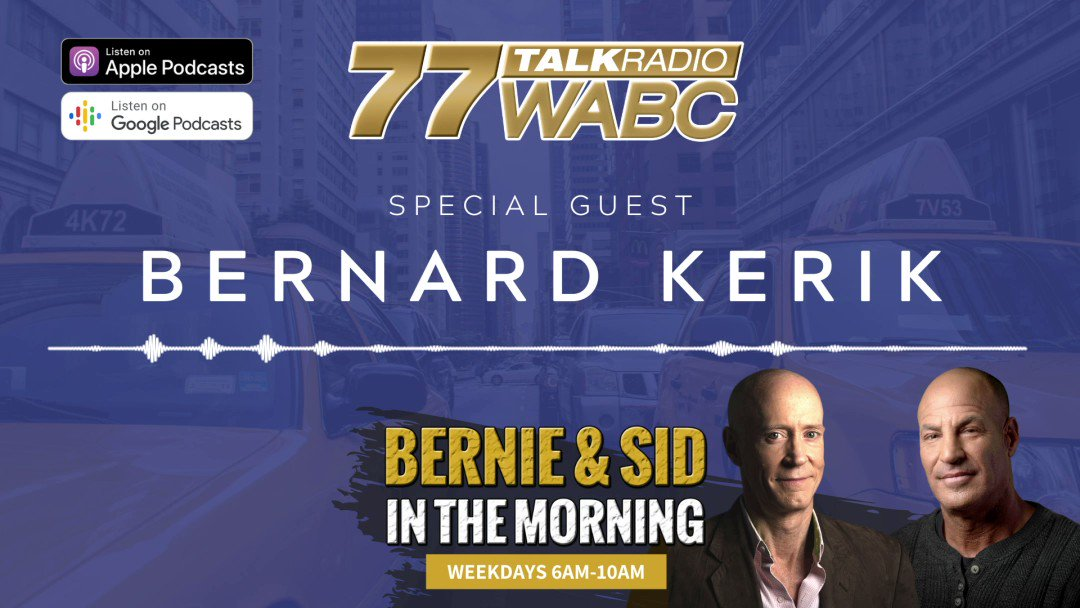 And that the way its going to continue to go, unless you change the leadership. - @BernardKerik MORE @bernieandsid: bit.ly/2LdCyxu