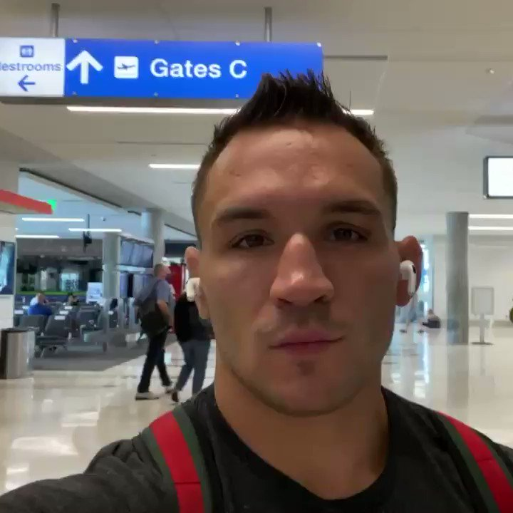 """See you soon - See you at the top.""  📱 @MikeChandlerMMA checks in for the first time as a UFC athlete! https://t.co/aLaDbMs9La"