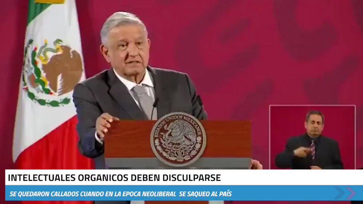 Image for the Tweet beginning: 🔴 Responde #AMLO al desplegado