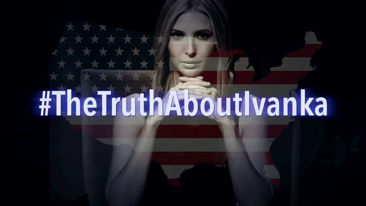 MY NEW VIDEO: #TheTruthAboutIvanka Im sick and tired of Donald Trumps hateful and racist attacks against @SenKamalaHarris. This is my new video about mini-Donald It is called #TheTruthAboutIvanka