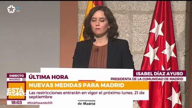 Image for the Tweet beginning: 🔴 Comparecencia de la presidenta