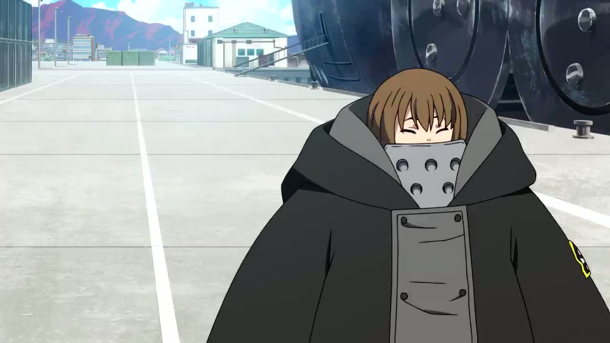 Takeru feeling right at home with that voice of his! Awwwwwww @CrisGeorgeVA you are just ADORBS!!!! ☺️❤️🔥 #FireForce @KylePhillipsFUN @FUNimation