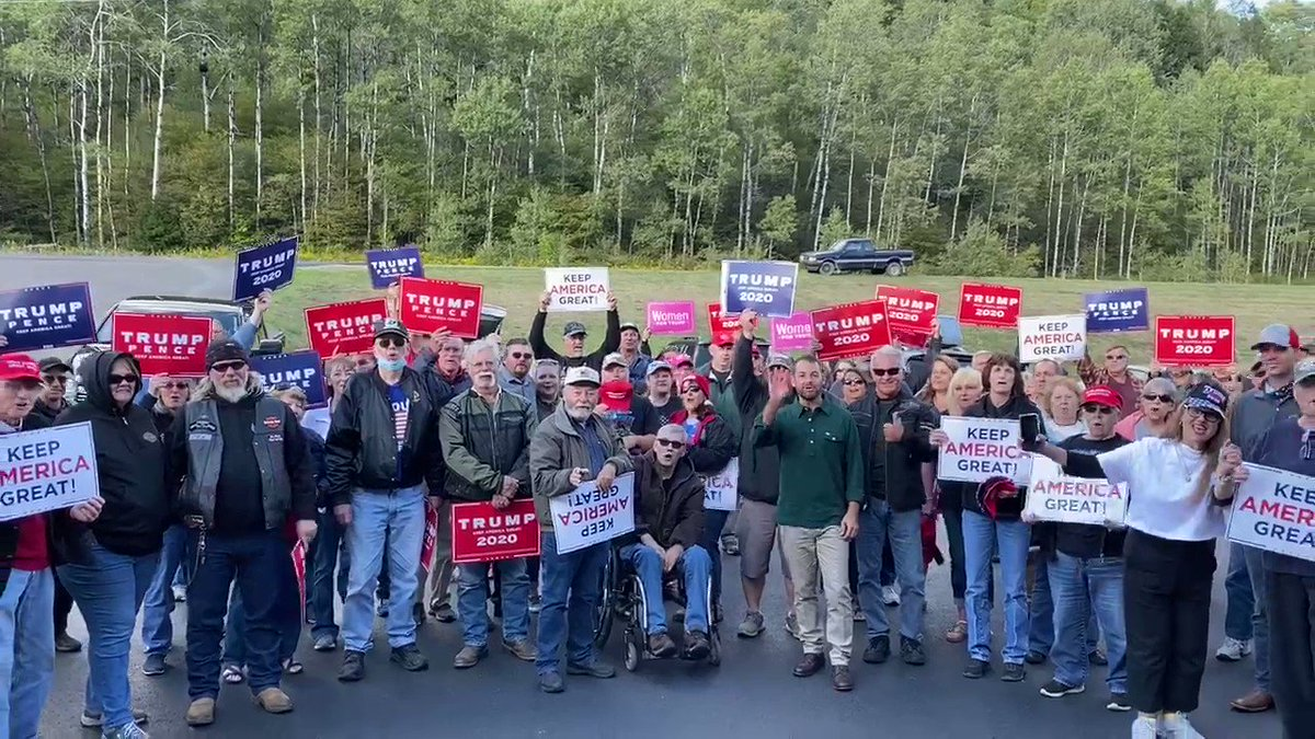 Galeton, Pennsylvania is ready for FOUR MORE YEARS! #Trump2020 🇺🇸