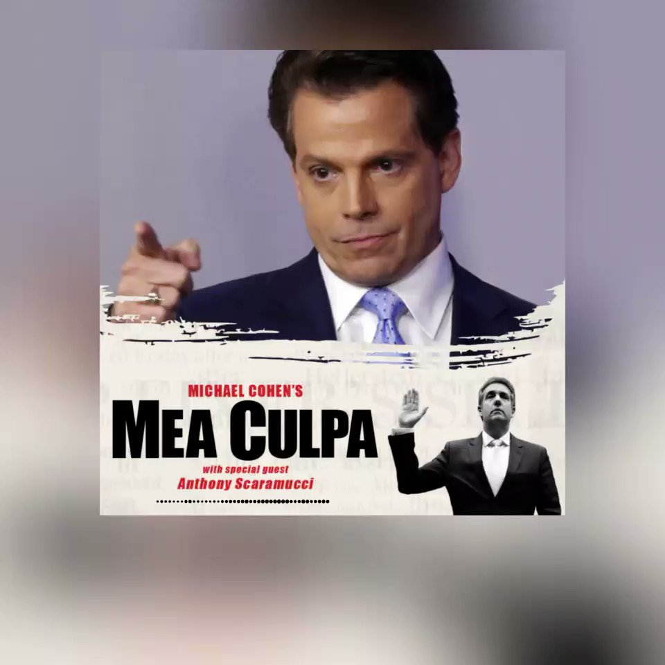 You asked for it...so here it is!!A teaser segment from this upcoming Monday, September 21 interview on #MeaCulpa between me and @Scaramucci. Listen in and be a part of the conversation. #RT https://t.co/sopN5IoX8q