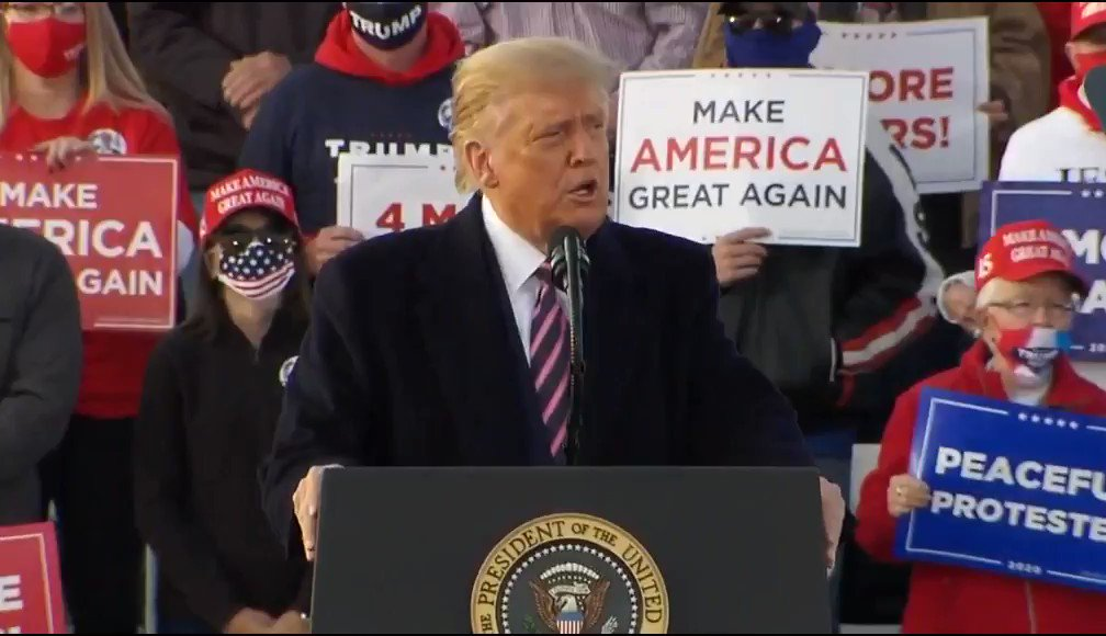 President @realDonaldTrump: No, Antifa is not an ideology. Its a bunch of thugs and anarchists that are being funded by somebody and find out who the somebody is