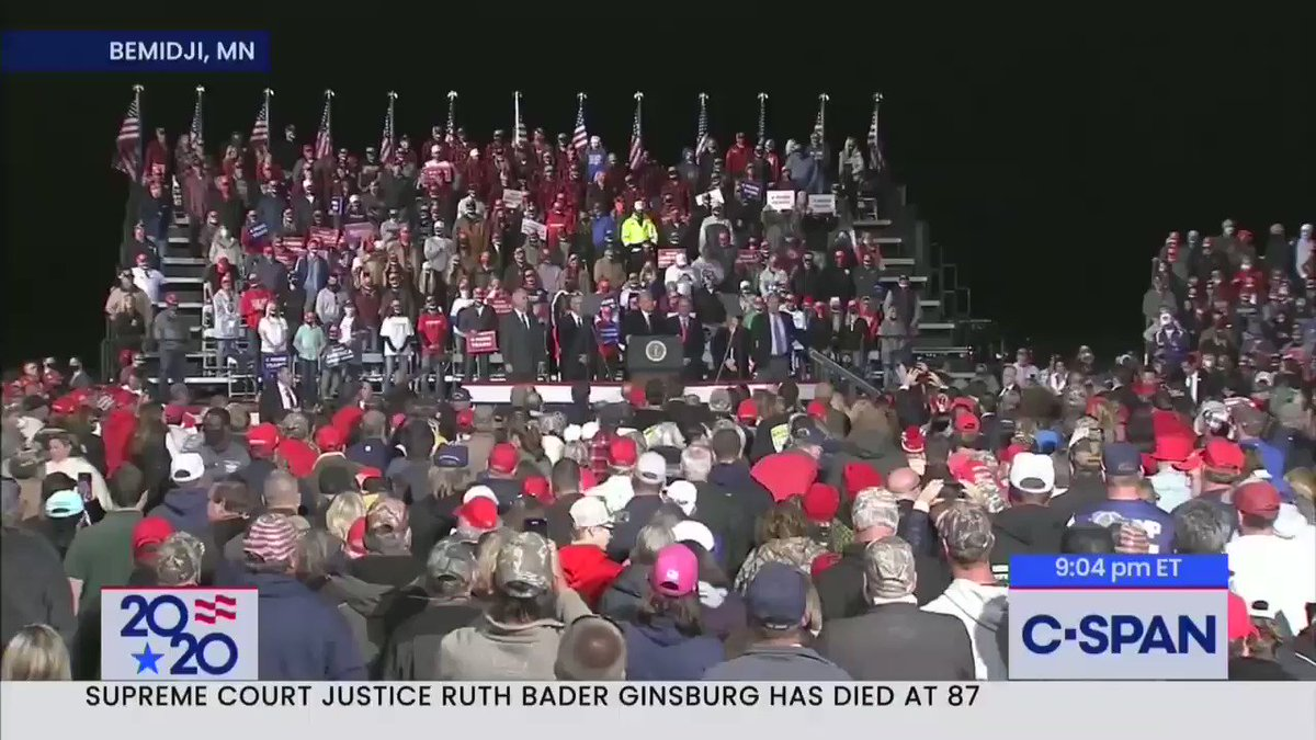 """You have good genes, you know that, right? You have good genes. A lot of it is about the genes, isn't it, don't you believe? The racehorse theory. You think we're so different? You have good genes in Minnesota."" -- Trump https://t.co/OiF63qZaKx"
